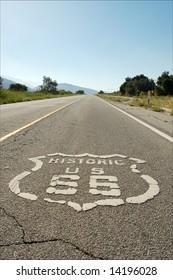 Route 66; near Cajon Pass; San Bernardino, California