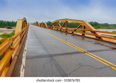 Route 66 Pony Truss Bridge