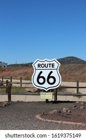 route 66 road signs in usa
