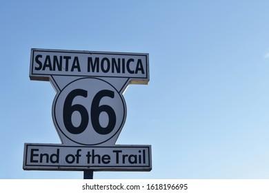 Route 66 Santa Monica Pier Los Angeles - HAASTLER