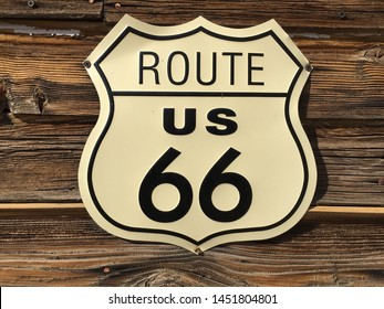 Route 66 sign, Arizona, USA