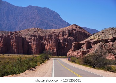 Route 68 view from Salta to Cafayate in Argentina