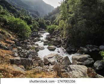 The route of the Borosa River in the Sierra de Cazorla, Segura and Las Villas. Jaén. Andalusia. Spain