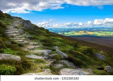 Route to Clachnaben in Glen Dye. Aberdeenshire, Scotland, United Kingdom.