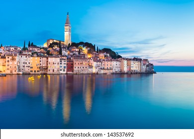 Rovinj is a city in Croatia situated on the north Adriatic Sea Located on the western coast of the Istrian peninsula, it is a popular tourist resort and an active fishing port.