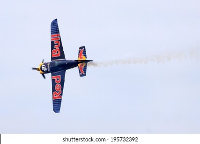 ROVINJ, CROATIA, APRIL 13: Red Bull Air Race World Championship 2014 on April 13, 2014 in Rovinj.