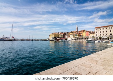 Rovinj – View from the harbour