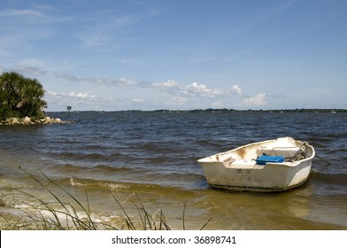 Row Boat on Indian River