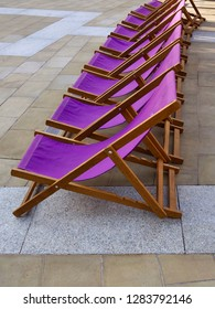 Row of Deckchairs