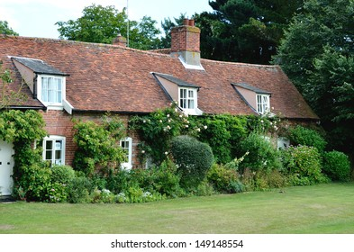 Row of English Country cottages