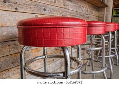Fabulous Bilder Stockfoton Och Vektorer Med Diner Stools Shutterstock Pabps2019 Chair Design Images Pabps2019Com