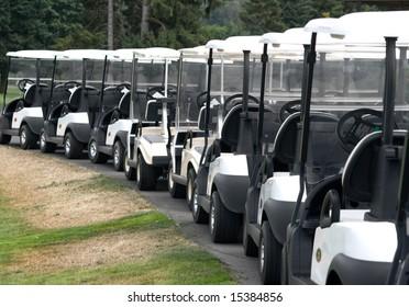 Row Golf Carts