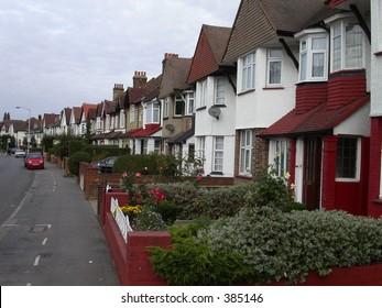 Row House in london city