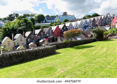 Row of houses, Cobh - Ireland
