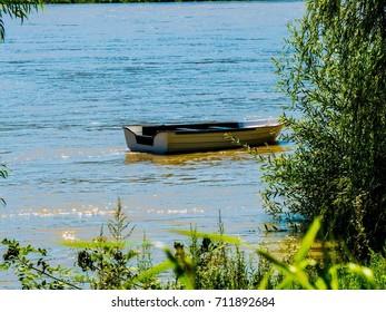 Rowboat on Danube