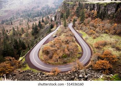 Rowena Crest Viewpoint, Portland, Oregon, USA