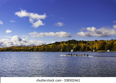Rowing in Autumn
