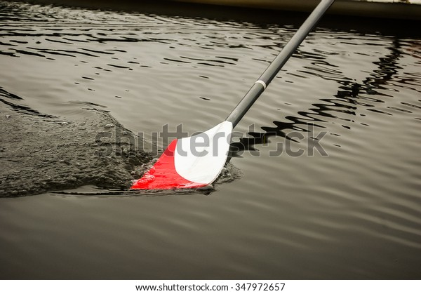 Rowing oar
