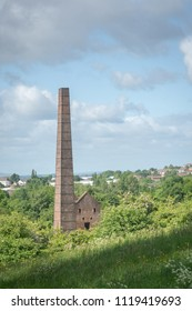 ROWLEY REGIS DUDLEY UK – JUNE 06 2015 Cobb's Engine House is a scheduled ancient monument and a Grade II listed buildingbuilt around 1831