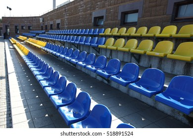 Rows for the audience