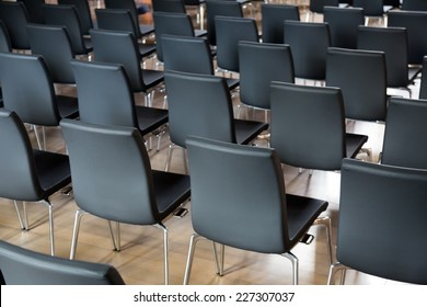 Rows of new chairs in the conference hall & Rows Of Chairs Images Stock Photos u0026 Vectors (10% Off) | Shutterstock
