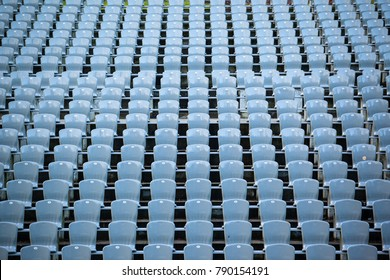 rows of seats in the stadium