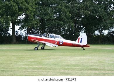 Royal Air Force Chipmunk training aircraft