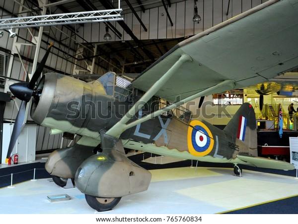 Royal Air Force Museum London Uk Stock Photo (Edit Now