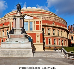 The Royal Albert Hall in the City of Westminster,  London, England