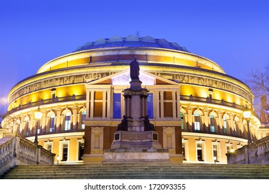 The Royal Albert Hall, Opera musical theater, in London, England, UK