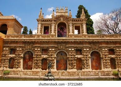Royal Alcazar Gardens Seville - Andalusia, Spain.