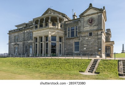 The Royal and Ancient clubhouse, St Andrews, Fife, Scotland
