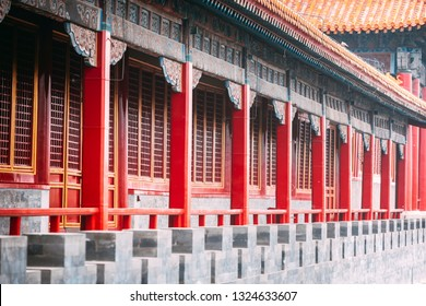 The Royal Architectural Corridor of Chinese History.