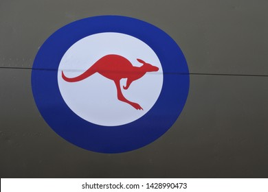 Royal Australian Air Force roundel sign and symbol.