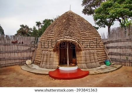 Royal Beer Brewers Hut Rukali Nyanza Stock Photo Edit Now