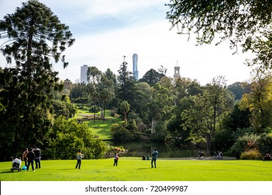 Royal Botanic Gardens, Melbourne, Victoria, Australia, Sunday 24 May 2015