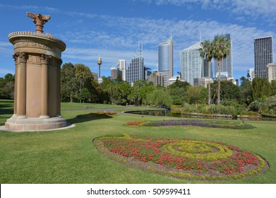 The Royal Botanic Gardens in Sydney New South Wales, Australia.