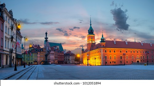 Royal Castle in the capital of Poland, Warsaw