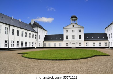 The Royal Castle of Graasten Jutland Denmark