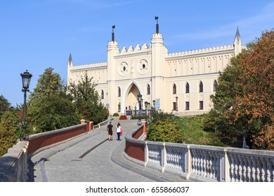 Royal Castle in Lublin, Poland. Initially in Renaissance style, but in years 1824-1826 rebuilt in the English neogothic