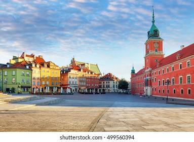Royal Castle in Warsaw, Poland - Shutterstock ID 499560394