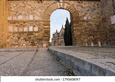 Royal Collegiate Church of Santa María la Mayor in the Old Center of Antequera (Málaga) Spain
