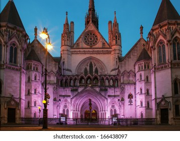Royal court of justice, London,UK