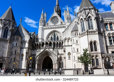 The Royal Courts of Justice, London, UK
