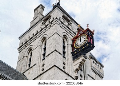 Royal courts of Justice, Strand, London, UK.