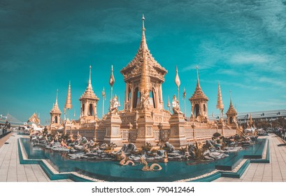 Royal Crematorium in Bangkok, Thailand