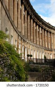Royal Crescent in Bath, England.