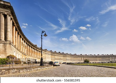Royal Crescent in Bath is one of the city's great landmarks and is a huge tourist attraction It was designed by John Wood and built between 1767 and 1774.