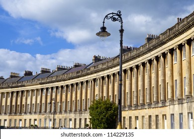 The Royal Crescent in Bath, Somerset.