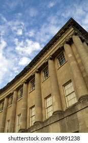 Royal Crescent and sky